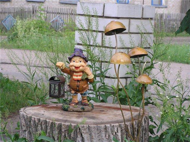Поделки сад и огород своими руками фото