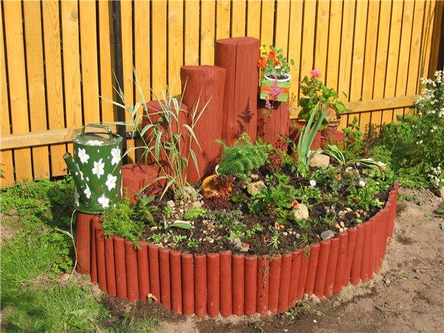 Огород оформление сада огорода фото
