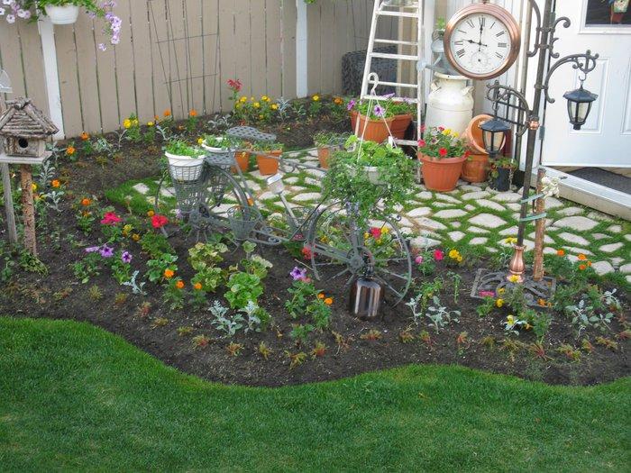 И она сделает сад поистине уникальным