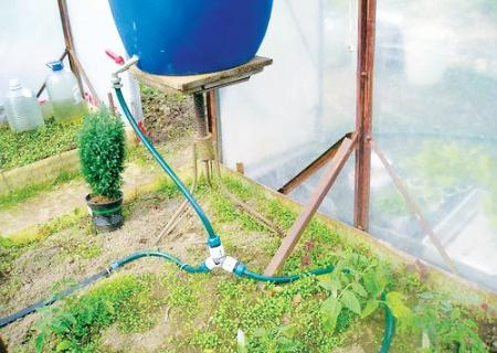 Капельный полив своими руками на даче фото