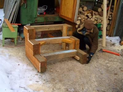 Сделать деревянное крыльцо своими руками