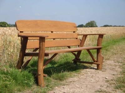 Своими руками скамейка для сада