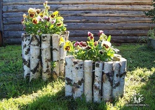 Поделки своими руками для сада с шин